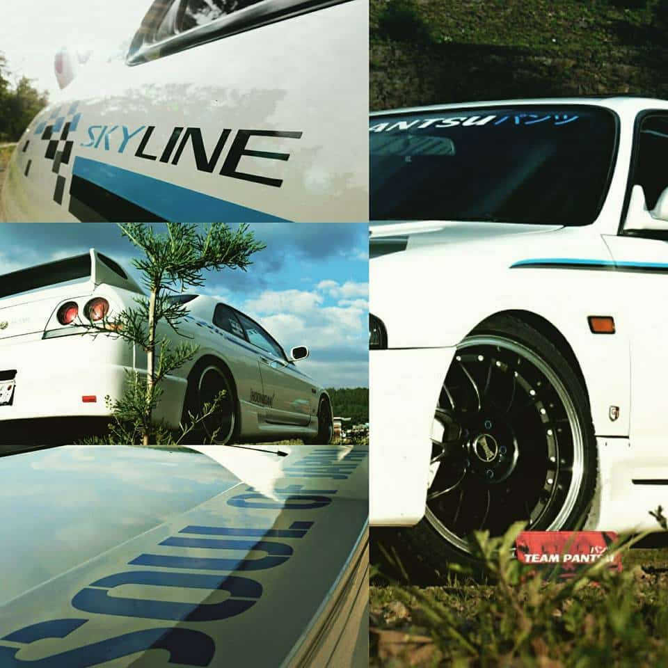 Nissan Skyline R33 GTST